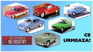 Automobile de neuitat - Ce urmeaza (Urmatoarele nr. 8-13) - Hachette - 1:24 scale