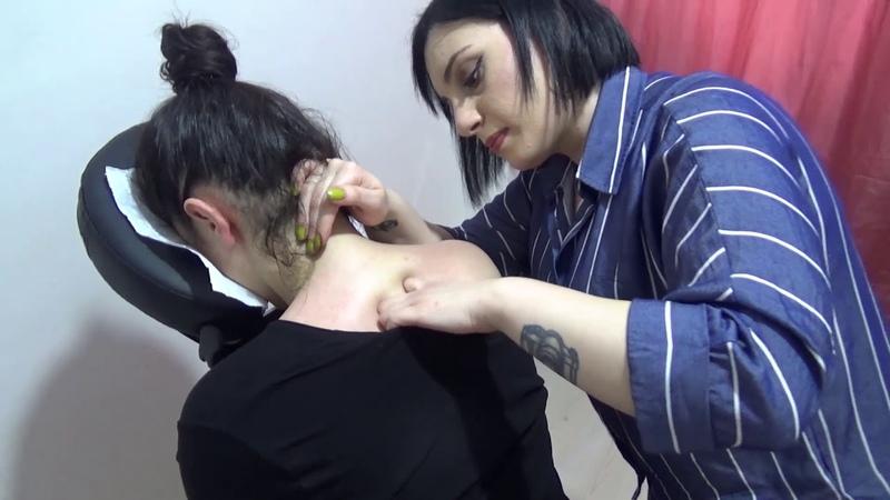 ASMR Miss Oben Neck Shoulder Head Massage