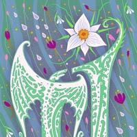 Логотип Terra Incognita. Фэнтези-книги от «Росмэн»