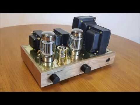 KT88 EL34 Single Ended Tube Amplifier Build