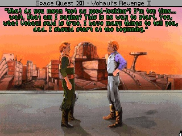 Проход SQ4 за 7 минут TAS Space Quest 4 Roger Wilco and the Time Rippers PC in 736 by c-square