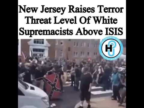 TERROR LEVEL OF WHITE SUPREMACISTS ABOVE ISIS