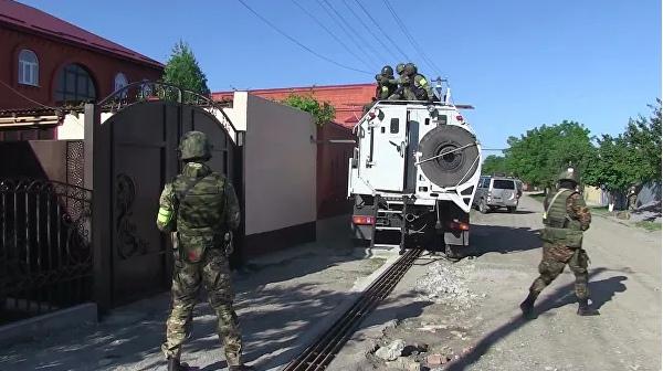 В Ингушетии ликвидировали двух бандитов, готовивших теракты