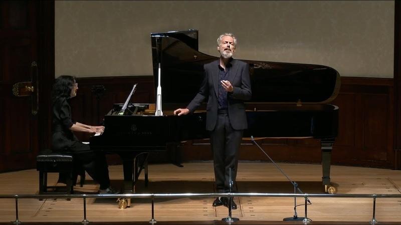 Mark Padmore Mitsuko Uchida Schubert's Winterreise live from Wigmore Hall