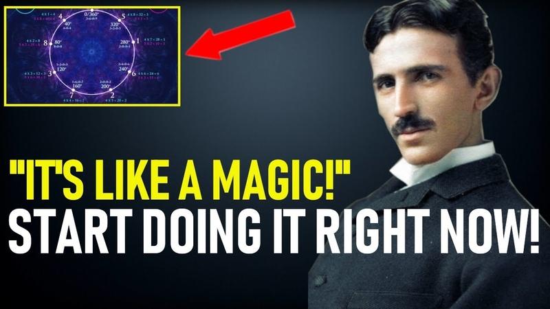 We've Found Nikola Tesla's Magic Formula START USING IT NOW
