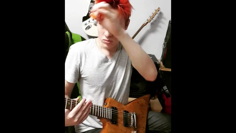 Hail to the King Solo A7x cover