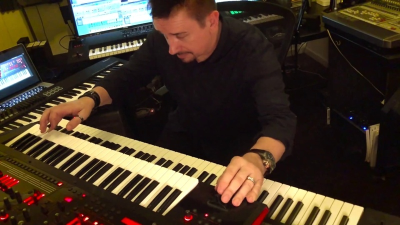 Roland Cloud demonstration track 3 with RD-2000 JD-XA