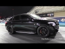 Mercedes AMG GLE63s RS800 PP Performance BIG FLAMES 1 4 Mile Drag