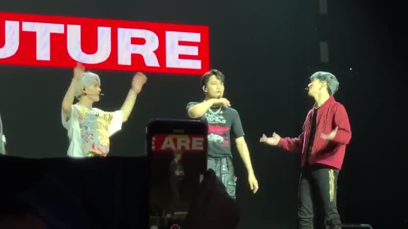 Kai ✘ superm 200228 we are the future tour live ⋙ ment