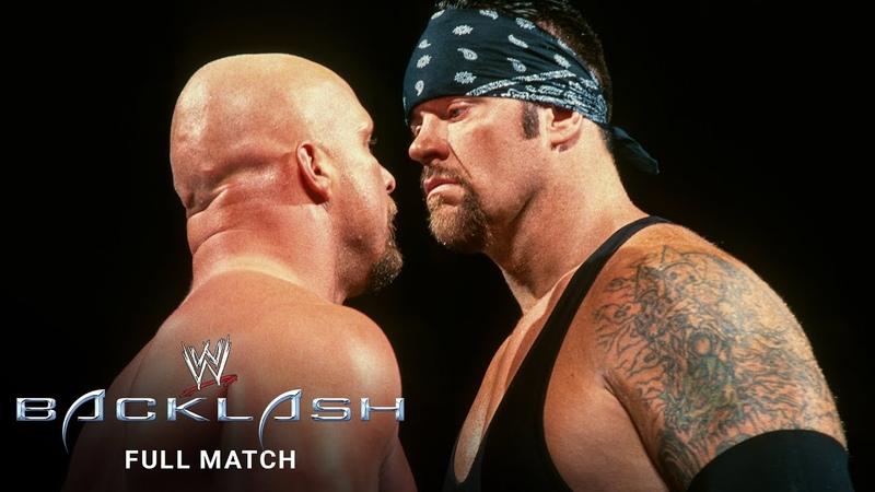 "FULL MATCH Stone Cold"" Steve Austin vs Undertaker WWE Title No 1 Contender's Match"