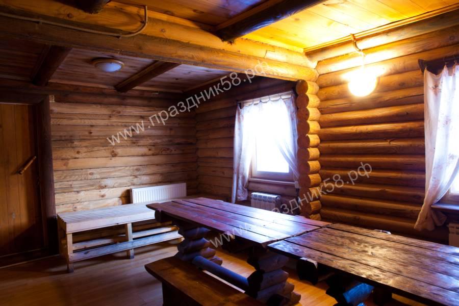 Русская баня на дровах в Пензе, описание, фотографии, цены.