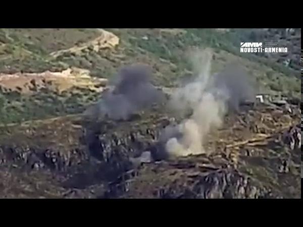 ՀՀ ԶՈՒ-ն ոչնչացնում է ադրբեջանական հենակետերը