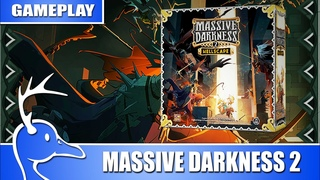 Massive Darkness 2: Hellscape - Gameplay with Designers Alex Olteanu and Marco Portugal (Quackalope)