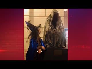 Как-то жутковато Лиза Арзамасова вобразе феи прогулялась в Праге