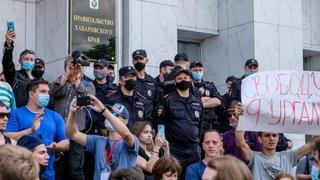 Подавить хабаровский бунт Пойдет ли в город внешняя сила