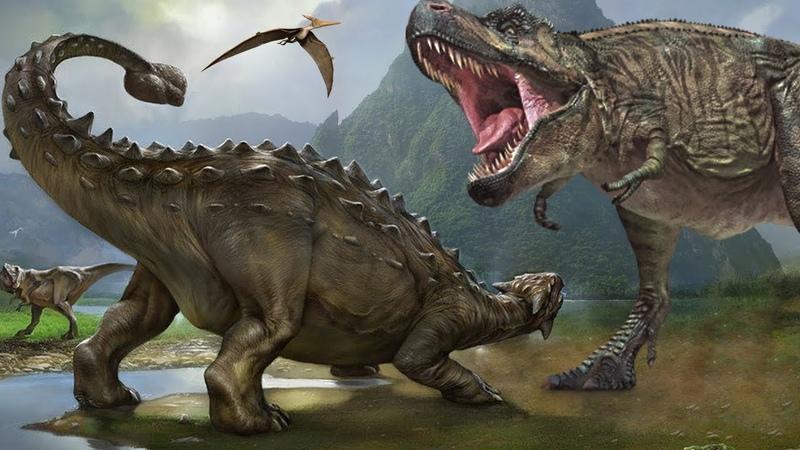 Динозавры и места их обитания на Земле