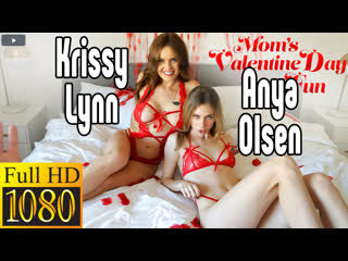 [Moms Teach Sex] Anya Olsen, Krissy Lynn Секс sex, сосёт, русс