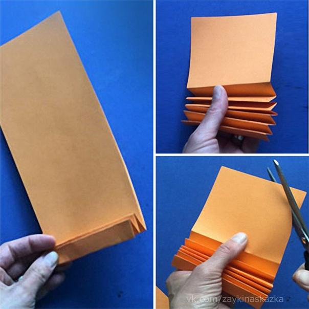 РЫБКИ-ГАРМОШКИ Поделки из бумаги