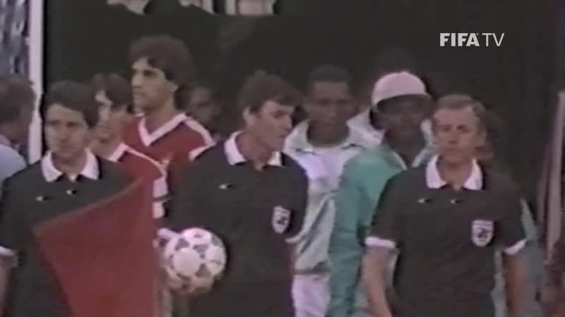 Португалия - Нигерия (обзор финала МЧМ 1989).