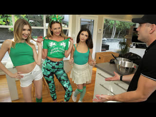 DetentionGirls Adira Allure, Jane Wilde, Mackenzie Moss - Saint Patricks Day Sex Party NewPorn2020
