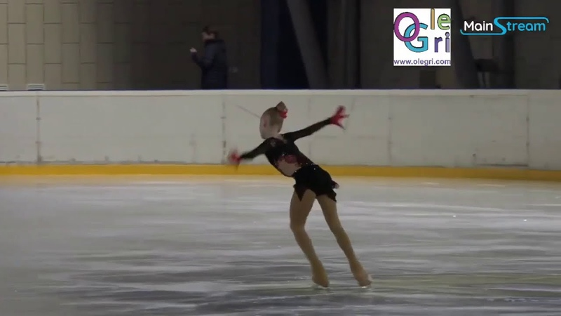 Zlata Murashova ст вз FS Первенство Москвы мл вз 2021