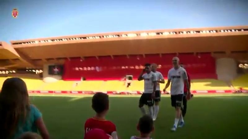 Retour en images sur la 1ère édition de lOpenTraining au Stade Louis II hier après midi