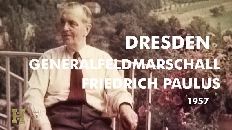 Germany GDR DDR 1957 ▶ Generalfeldmarschall Friedrich Wilhelm Ernst Paulus Dresden Funeral