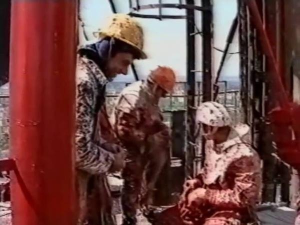 Покраска телевышки Перми на Технической, 7 в 1995 году