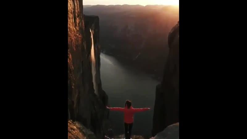 Amazing Kjerag Mountain - - Norway -