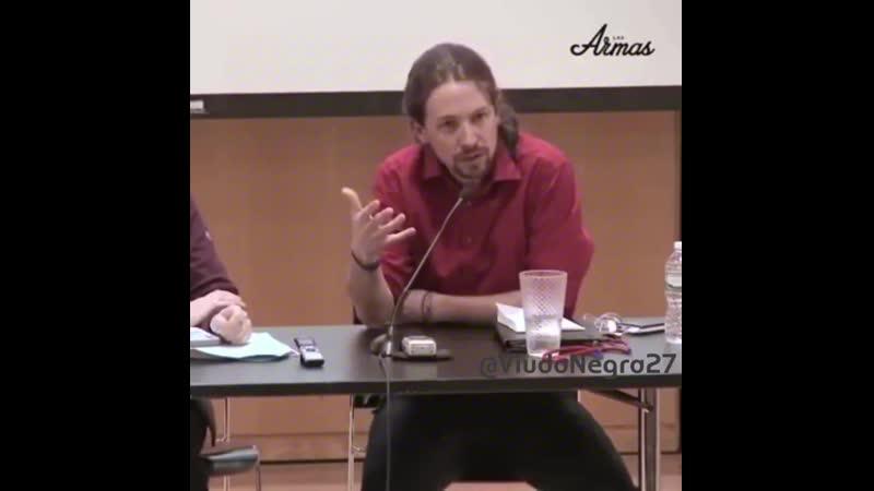 Pablenin Iglesias hablando inglés Otro compra Masters