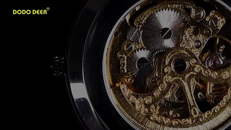 Dodo олень деревянные механические часы пара relogio masculino женские мужские роскошные erkek kol