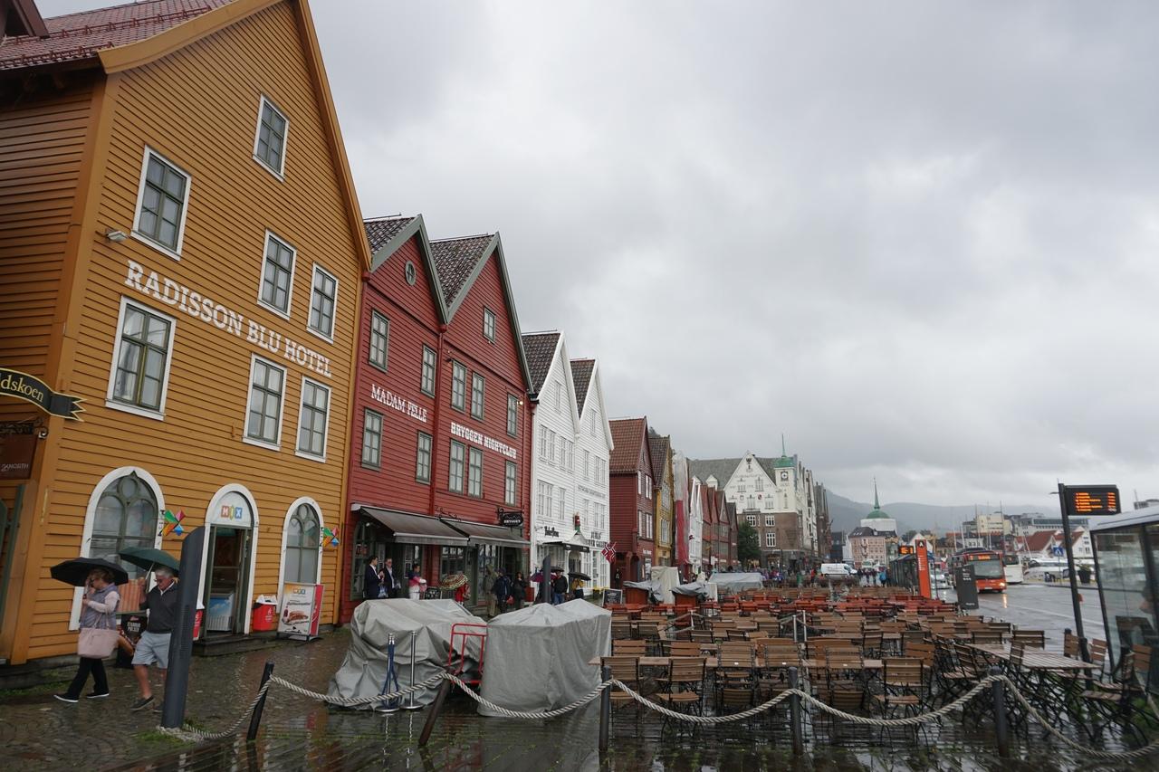 Историческая набережная Брюгген - самая красивая часть Бергена