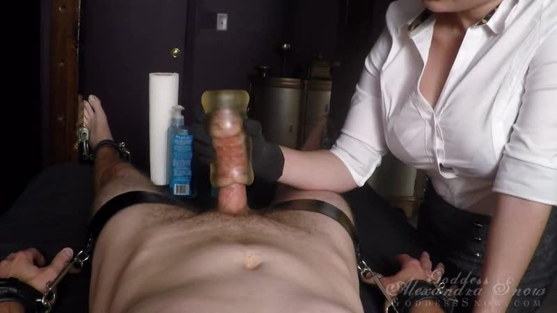 Ruined handjob orgasm by Mistress