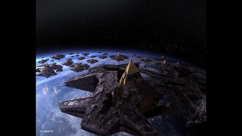 Корабли Гоаулдов Звездные врата ЗВ 1 Stargate SG 1
